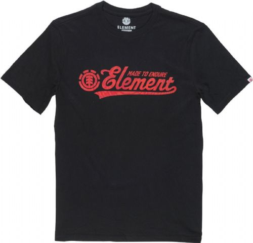 ELEMENT MENS T SHIRT.NEW SIGNATURE BLACK SHORT SLEEVED COTTON TEE TOP 7S A9 3732